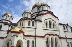 Athos-Tempel stockbilder