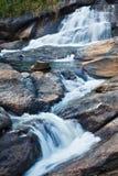 Athukadu Waterfall Royalty Free Stock Photos