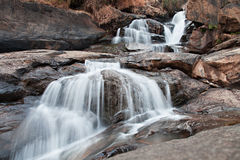 Athukadu waterfall Stock Photography