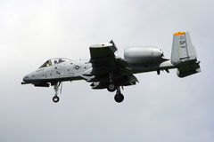 A--10AThunderbolt II Royaltyfri Bild