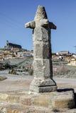 Atienza, medieval pillory, Soria Spain. Atienza province of Soria, medieval pillory, Spain Stock Photography