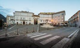Atina Valle di Comino, Ciociaria, Italien arkivfoto