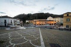 Atina Valle di Comino, Ciociaria, Italien arkivfoton