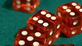 Atirador dos dados do casino video estoque