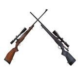 Atirador furtivo Rifle Fotografia de Stock