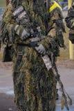 Atirador furtivo Rifle Imagens de Stock Royalty Free
