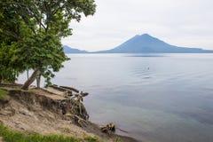 atitlan湖 库存照片