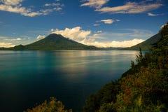 atitlan λίμνη Στοκ Εικόνες
