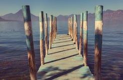 atitlan озеро Стоковая Фотография RF
