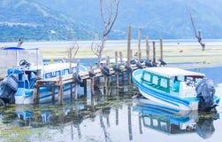 atitlan湖 图库摄影