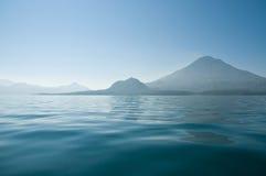 atitlan湖 免版税库存照片