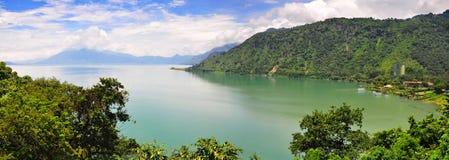atitlan guatemala lake Arkivbild