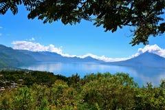 atitlan lake Royaltyfria Foton