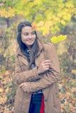 Atitude da jovem mulher Fotografia de Stock Royalty Free