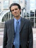 Atitude do homem de negócios Foto de Stock Royalty Free