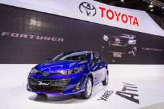 Ativ de yaris de Toyota Photos libres de droits