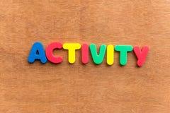 atividade Fotografia de Stock