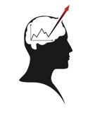 Atividade de cérebro Foto de Stock Royalty Free