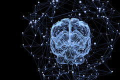 Atividade de cérebro Foto de Stock