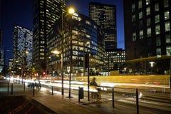 Atividade de noite de Norc na cidade Fotografia de Stock
