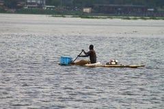 Atividade de pesca Fotografia de Stock Royalty Free