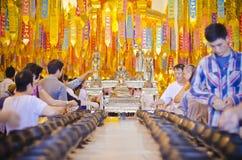 Atividade do budismo Fotos de Stock Royalty Free