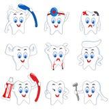 Atividade do dente ilustração stock