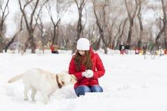 Atividade do inverno Foto de Stock