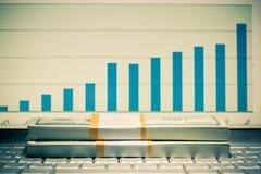 Atividade financeira Foto de Stock