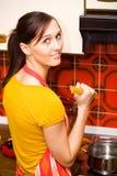 Atividades da cozinha Imagens de Stock