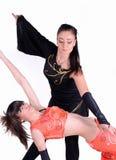 Atividades da dança imagens de stock