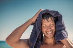 Atividades da praia Foto de Stock Royalty Free