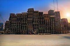 Atividades tradicionais do porto Fotos de Stock