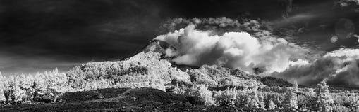 Atividades vulcânicas Fotografia de Stock