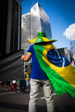 Ativista brasileiro Foto de Stock