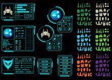 Ativo do jogo do espaço Imagem de Stock