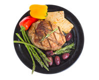 Atkins mediterranean diet. Royalty Free Stock Images