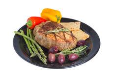 Atkins śródziemnomorska dieta. Obrazy Stock