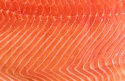 Atlântico natural Salmon Fillet Texture ou teste padrão norueguês fotos de stock royalty free