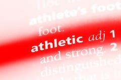 atlético fotografia de stock