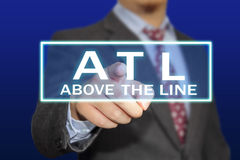 ATL Concept Royalty Free Stock Images