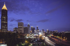 ATL in the Morning Royalty Free Stock Photos