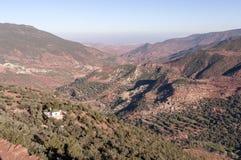 Atlant góry w Maroko Fotografia Stock