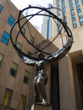 Atlant statua obrazy stock