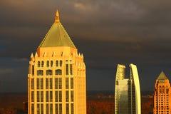 Atlanta's градуировало горизонт Стоковое Изображение