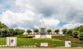 Atlanta Świątynny kościół Ostatni dni święty Fotografia Stock