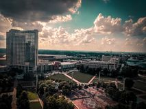 atlanta городской стоковое изображение rf