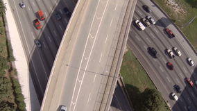 Atlanta Aerial Freeway stock video