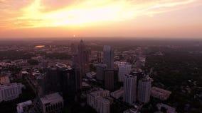 Atlanta Aerial stock video
