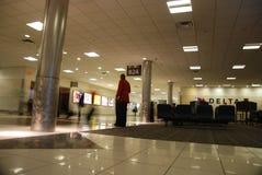 Atlanta airport. Departure waiting hall in Atlanta airport Royalty Free Stock Photo